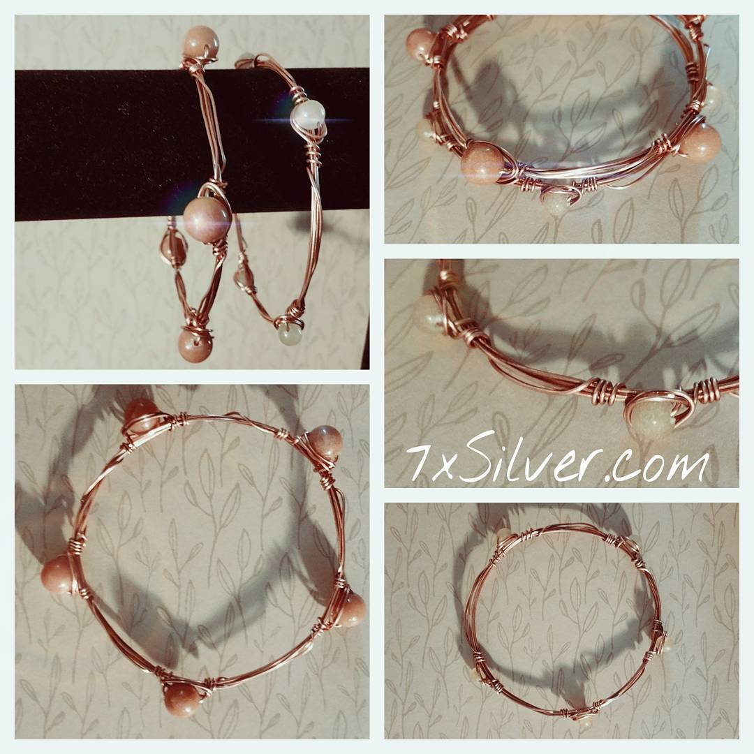 Copper Stacking Bangle